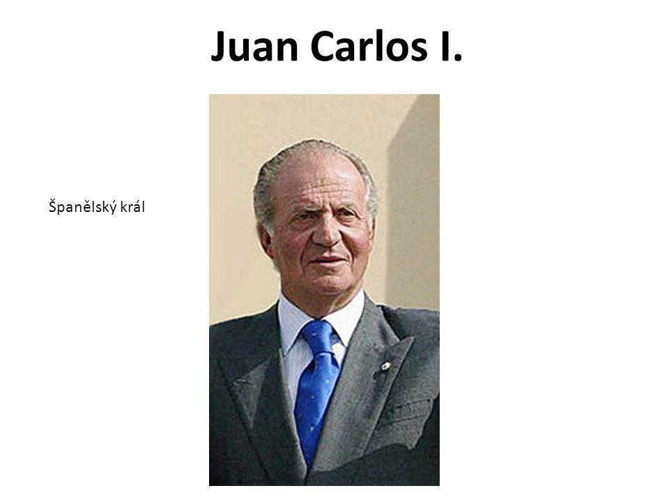 Juan Carlos I. Španělský král