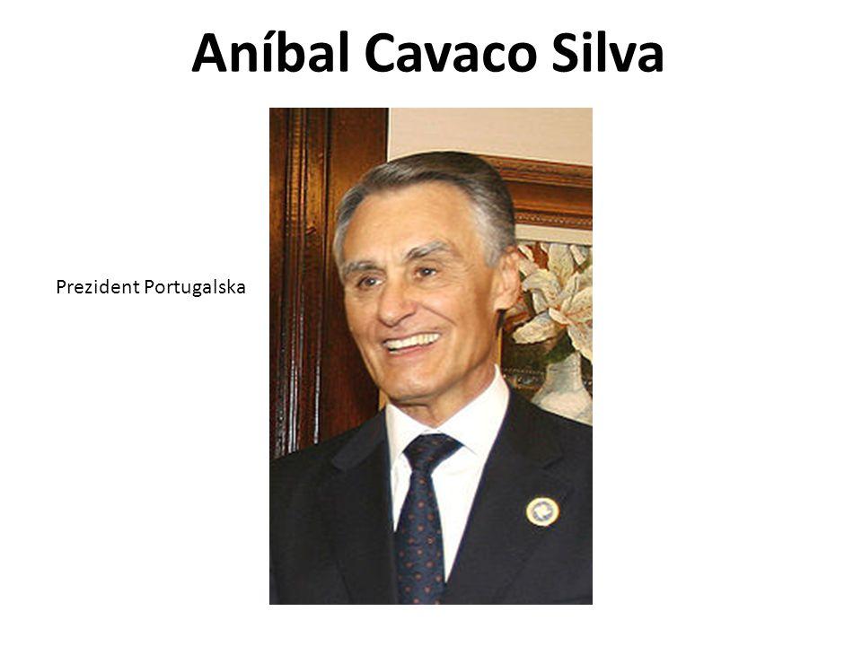 Aníbal Cavaco Silva Prezident Portugalska