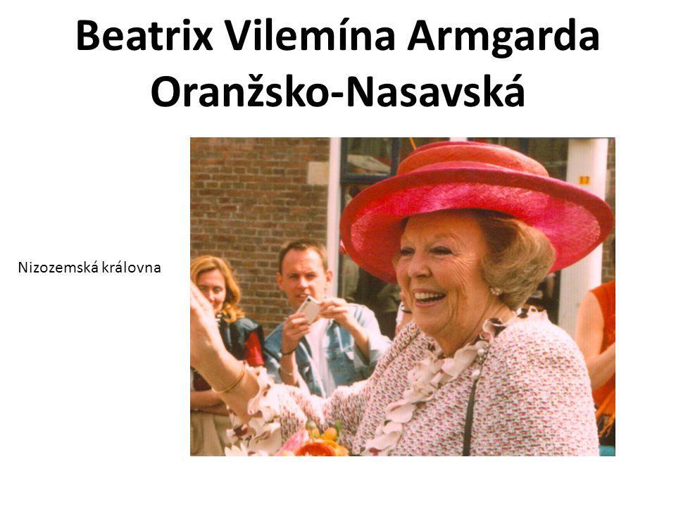 Beatrix Vilemína Armgarda Oranžsko-Nasavská Nizozemská královna