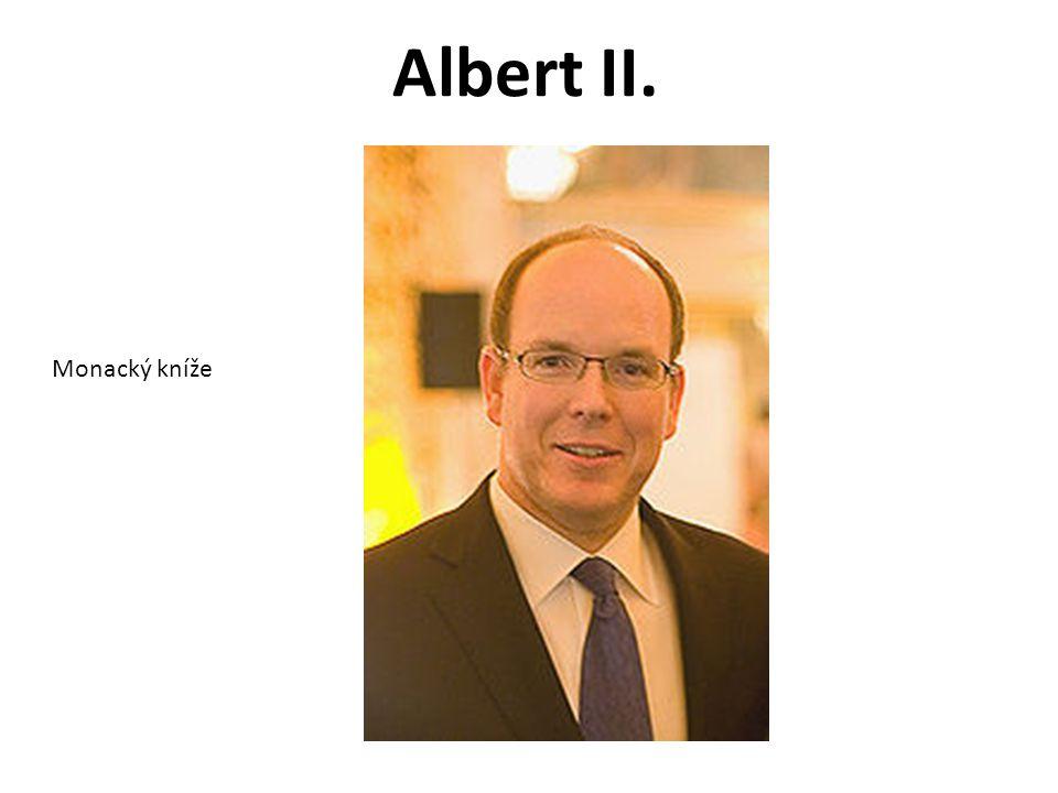 Albert II. Monacký kníže