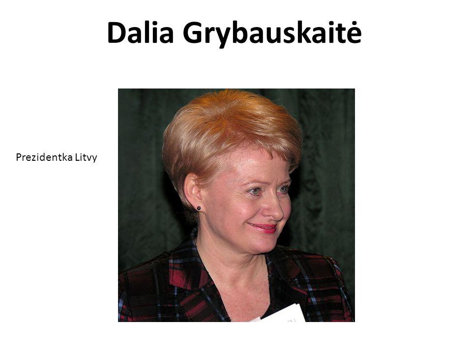 Dalia Grybauskaitė Prezidentka Litvy
