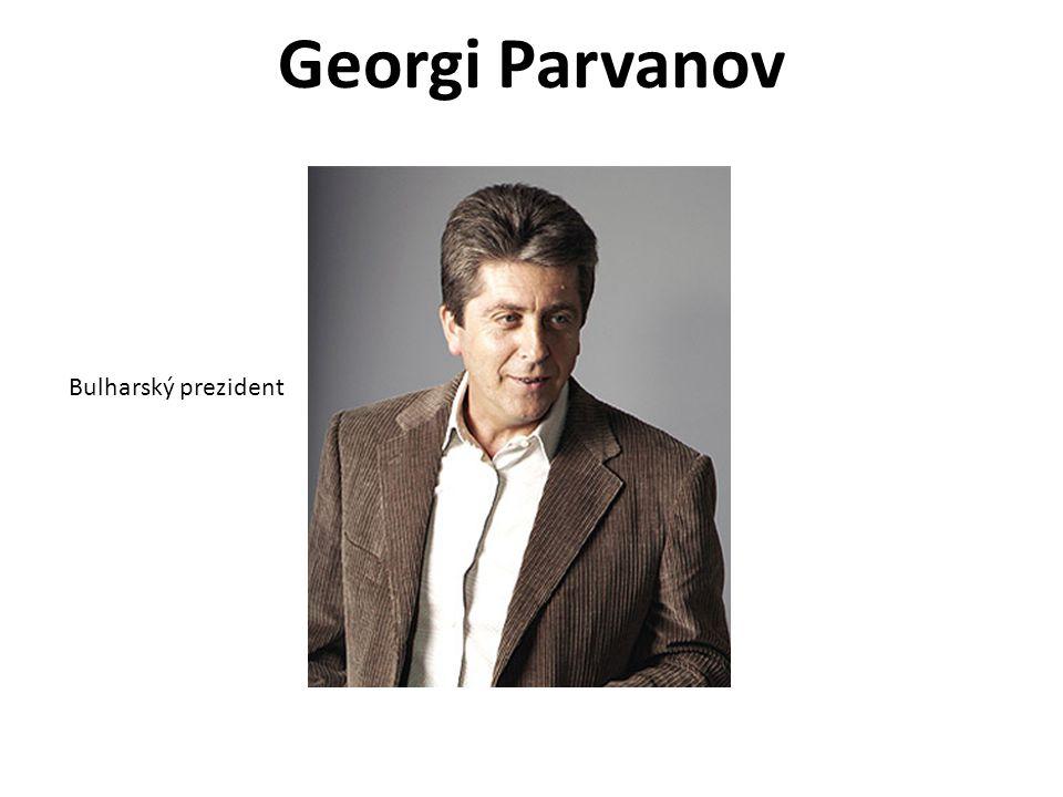 Georgi Parvanov Bulharský prezident