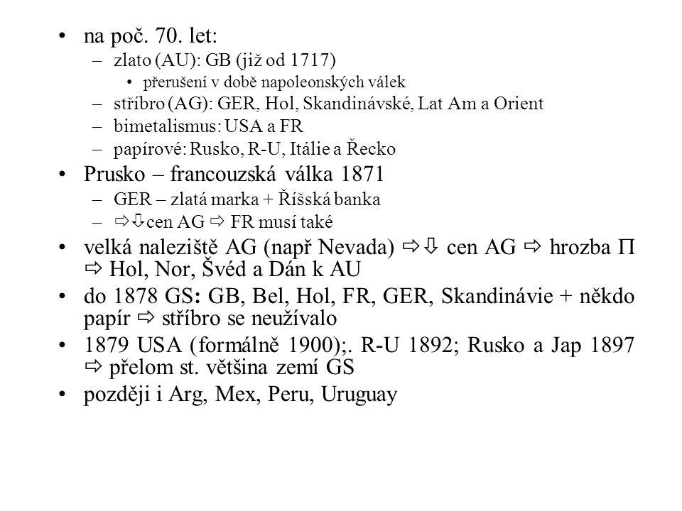směnné kurzy po WW2 IMF tlak na určení parit obtížné (výše, nejistoty …)  1946 kurzy určeny ALE nereálně  –1948 – 49 I.