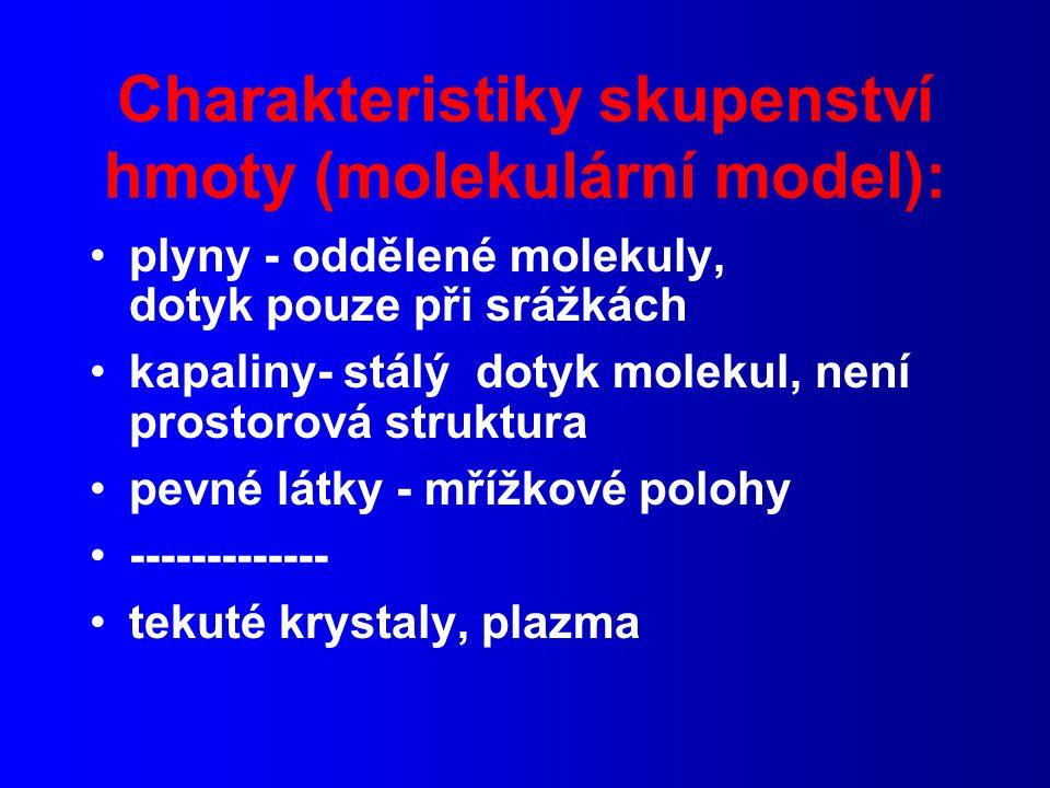 2.věta termodynamiky: spontánní změny - směr změn Entropie - stavová funkce (1.věta - možnost změn, 2.věta - směr změn (z možných))