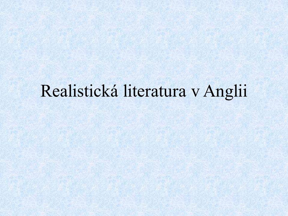 Realistická literatura v Anglii