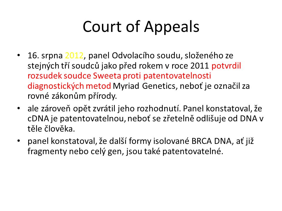 Court of Appeals 16.