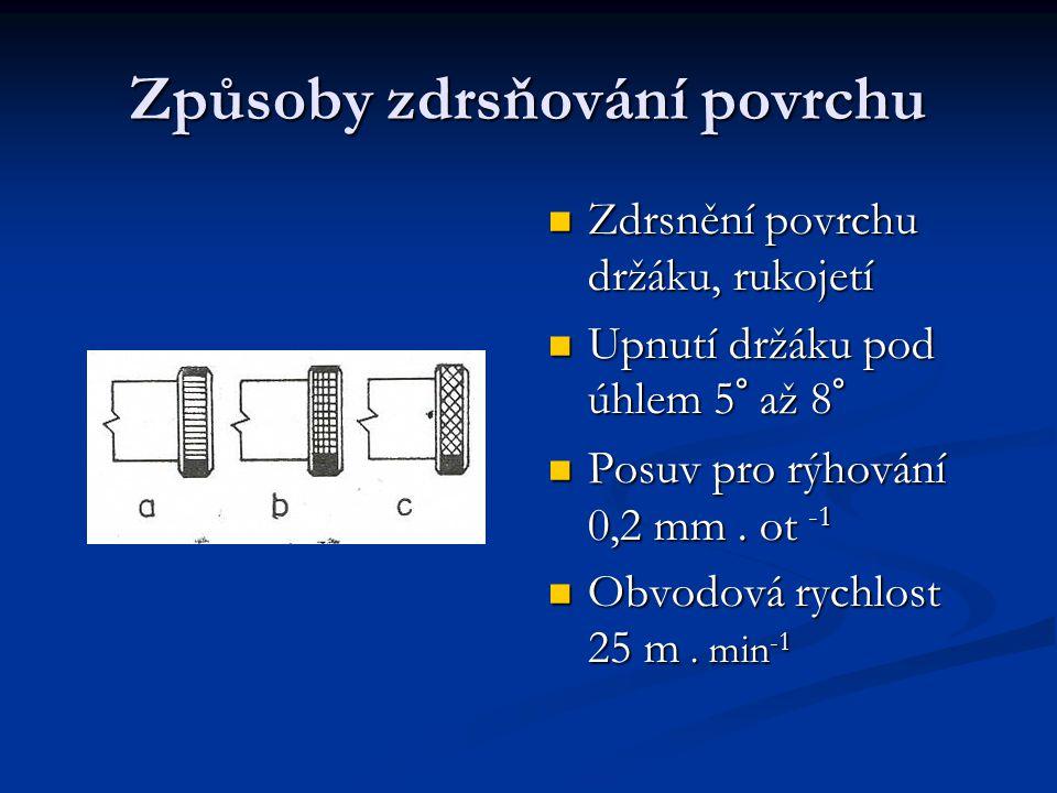 Hlavní části vroubkovače Kalené rýsovací kolečko Kalené rýsovací kolečko Čep Čep Držák Držák Pravoúhlé vroubkování Pravoúhlé vroubkování Vroubkovače, výkyvná část Vroubkovače, výkyvná část Držák Držák