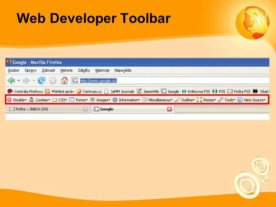 Web Developer Toolbar