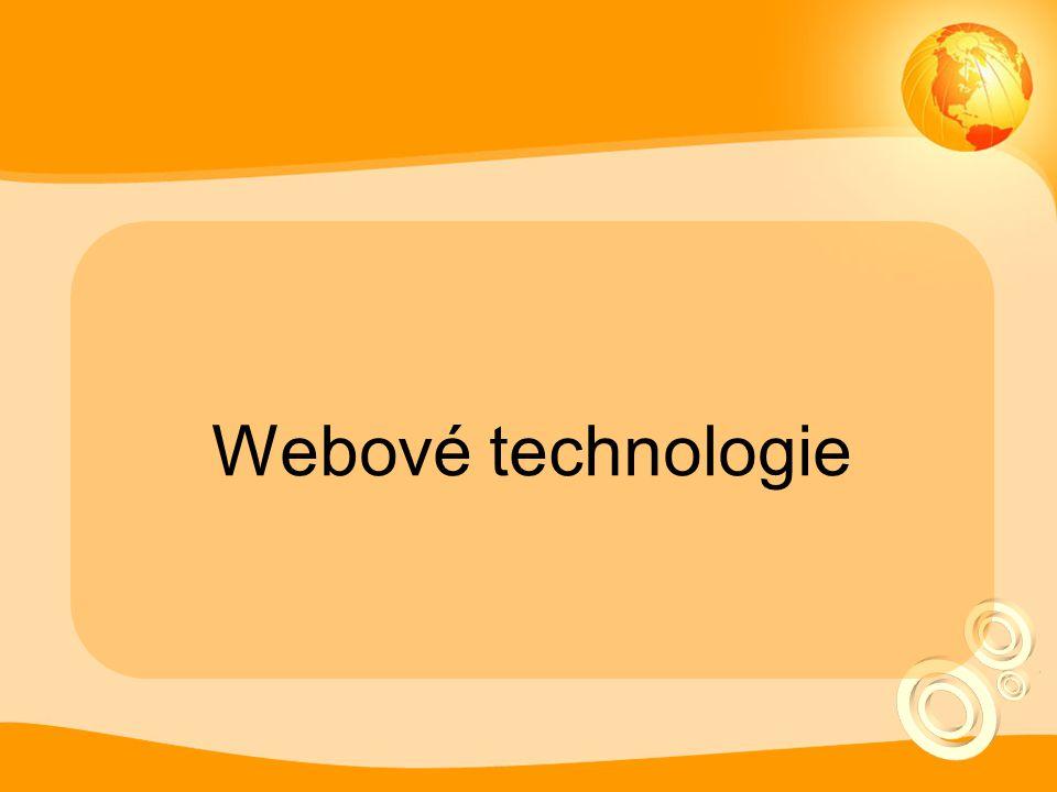 Webové technologie