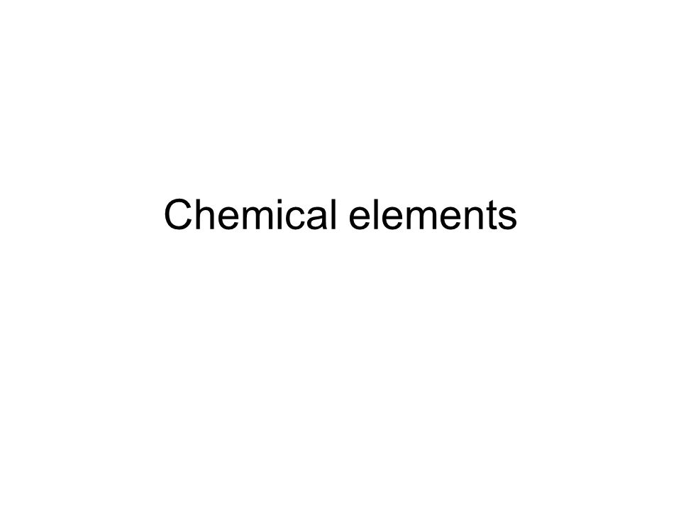 A chemical element is a chemical substance consisting of one type of atom.