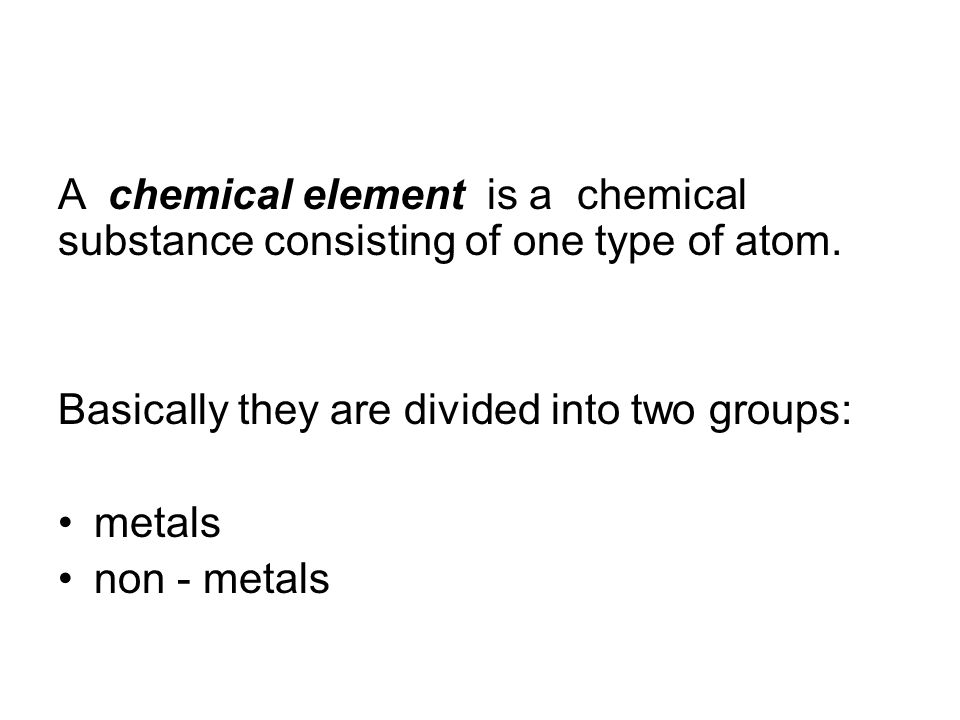 a chemical symbol is given to each element.the same symbols are used all over the world.