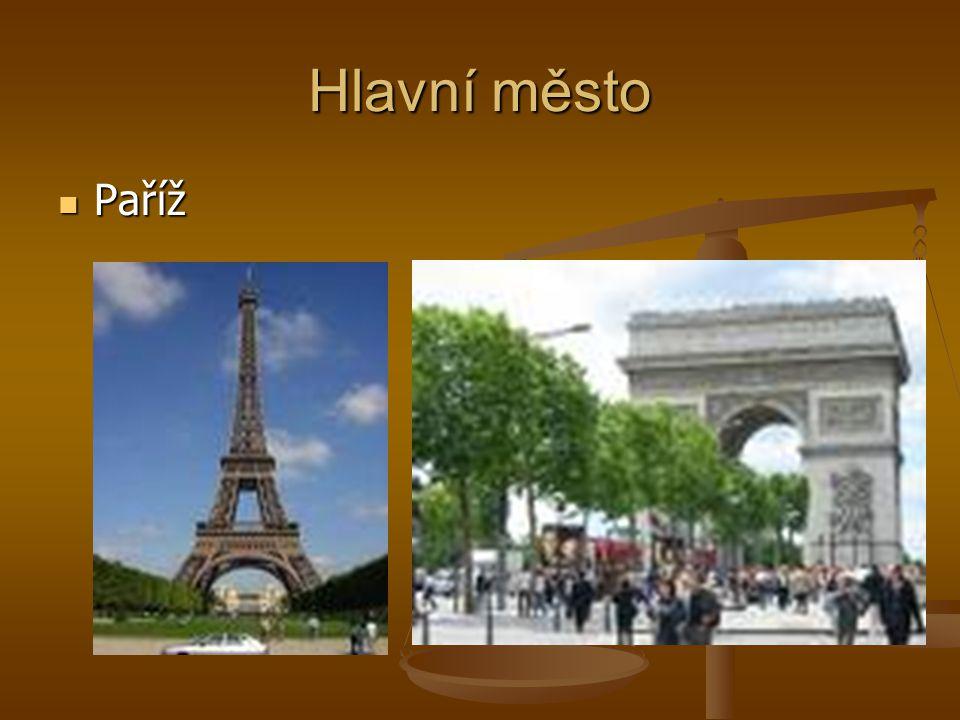 Hlavní město Paříž Paříž