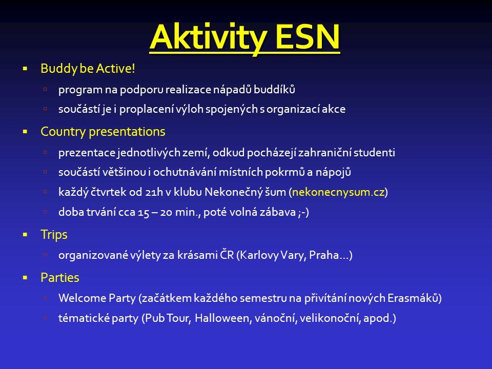 Aktivity ESN  Buddy be Active.