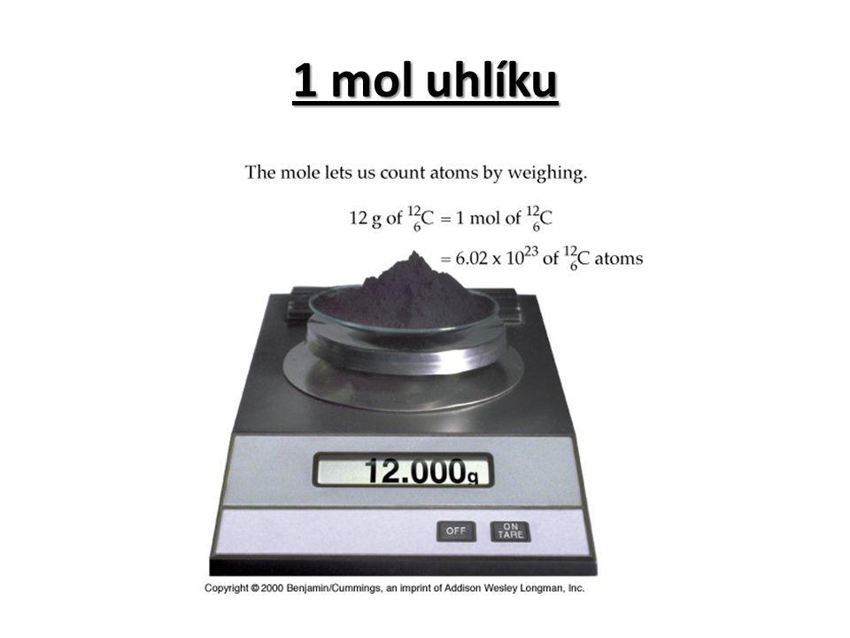 1 mol uhlíku