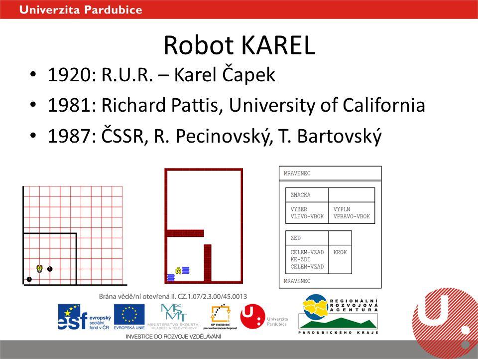 Robot KAREL 1920: R.U.R.
