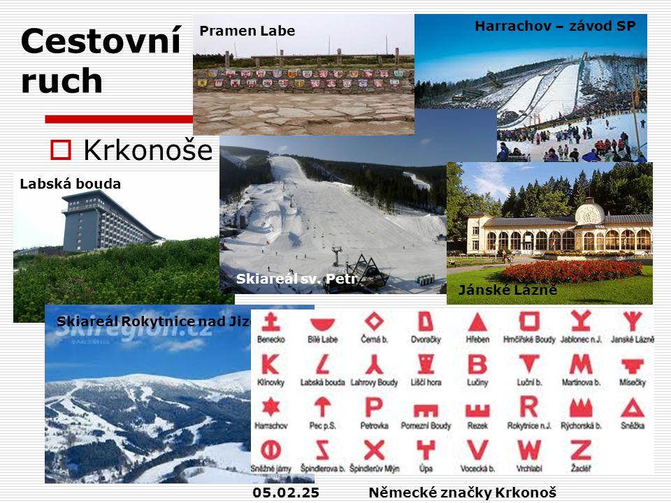 Cestovní ruch  Krkonoše Labská bouda Harrachov – závod SP Skiareál sv.