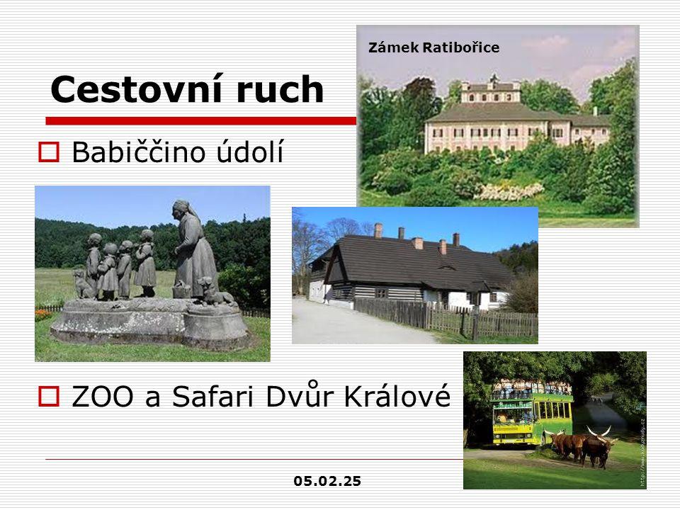 Cestovní ruch  Adršpašsko-teplické skály  Prachovské skály  Třebechovice pod Orebem- Muzeum Betlémů Proboštův betlém – celkem 2000 dílů 05.02.25