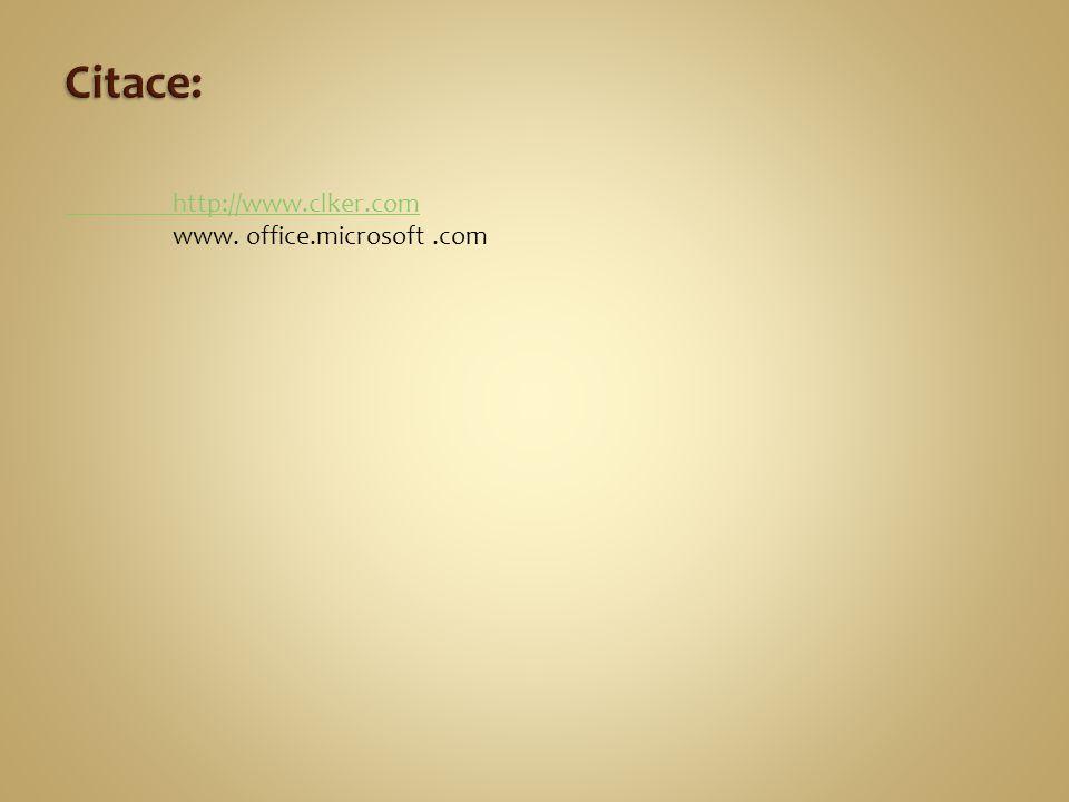 http://www.clker.com www. office.microsoft.com