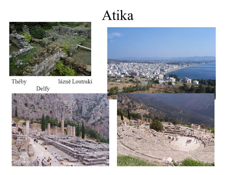 Atika Thébylázně Loutraki Delfy