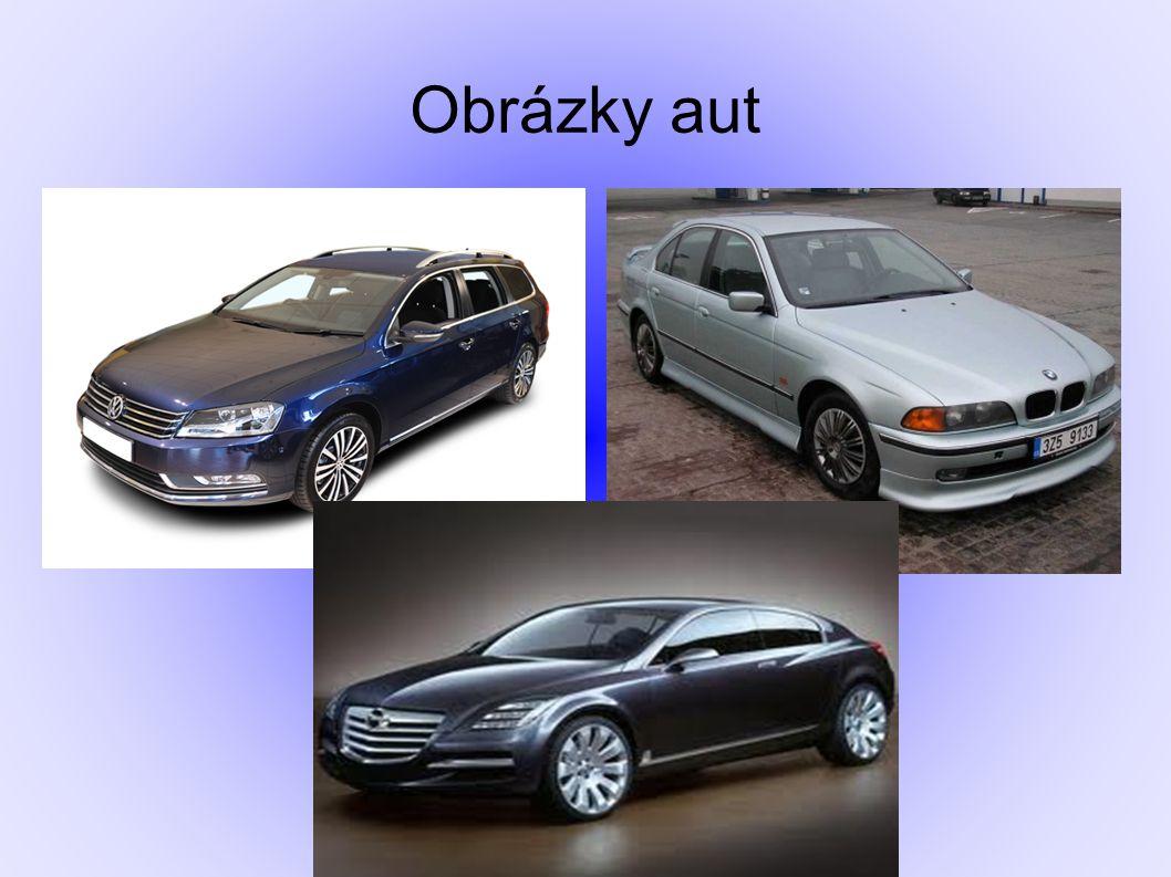 Obrázky aut