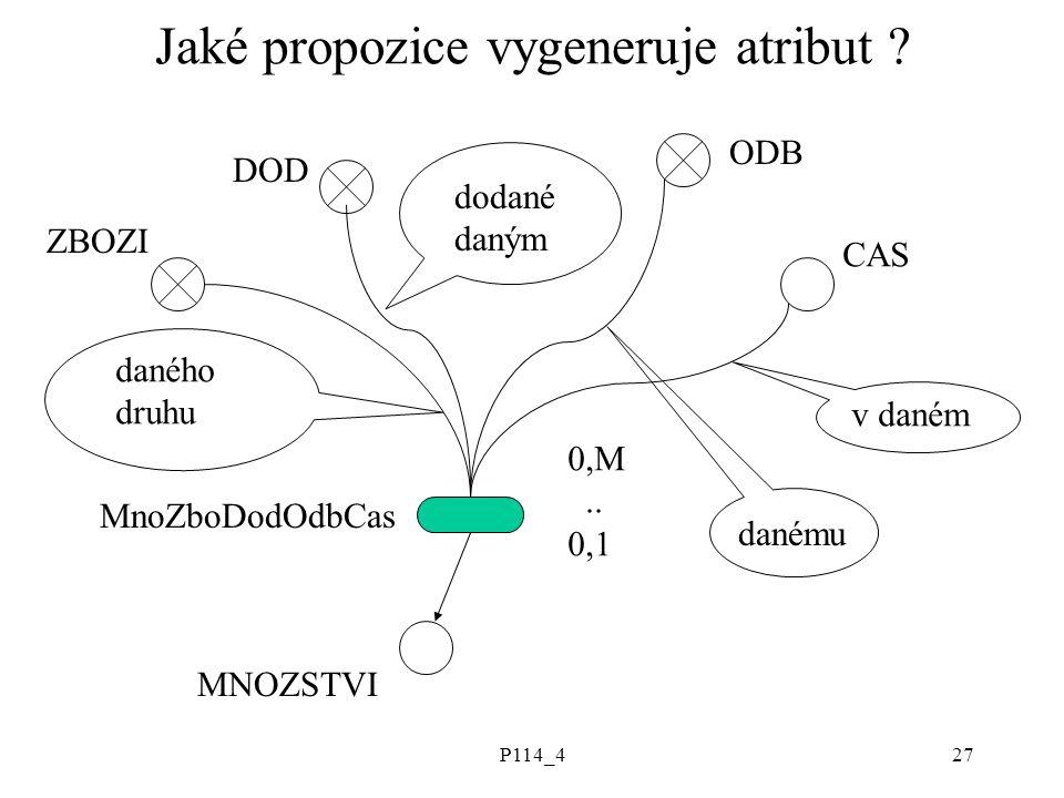 P114_427 Jaké propozice vygeneruje atribut .