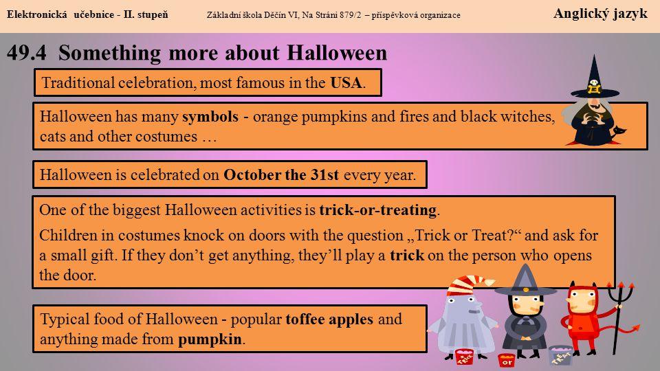 49.4 Something more about Halloween Elektronická učebnice - II.