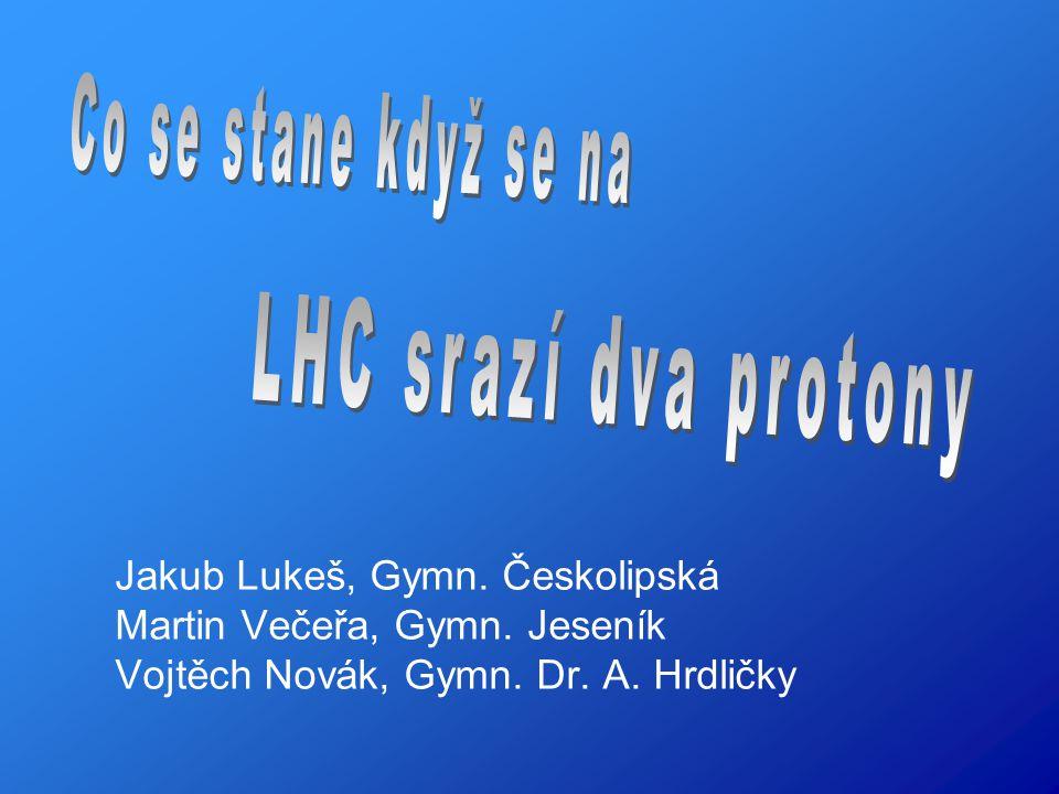 O protonech CERN Pythia Shrnutí Poděkování