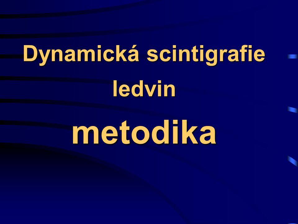 Dynamická scintigrafie ledvin metodika
