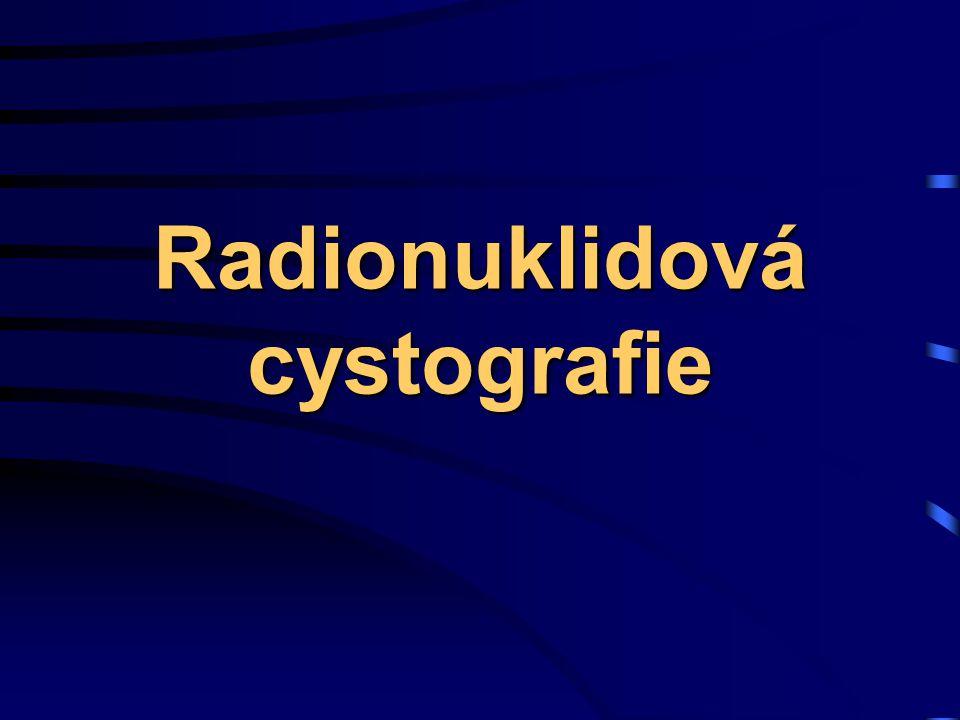 Radionuklidová cystografie