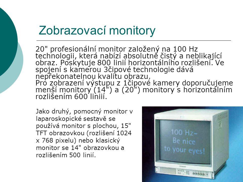 Zobrazovací monitory 20