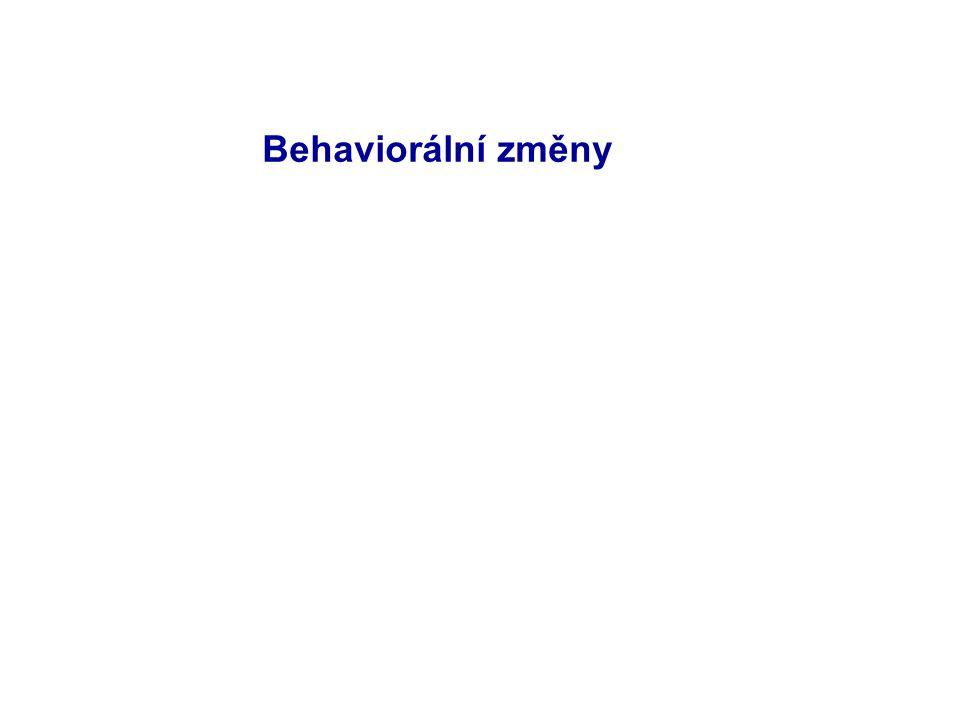 Behaviorální změny