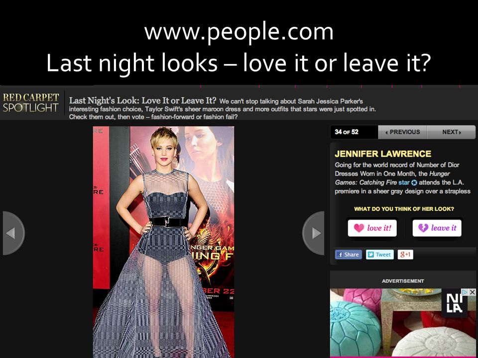 www.people.com Last night looks – love it or leave it