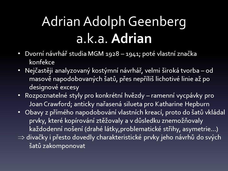 Adrian Adolph Geenberg a.k.a.