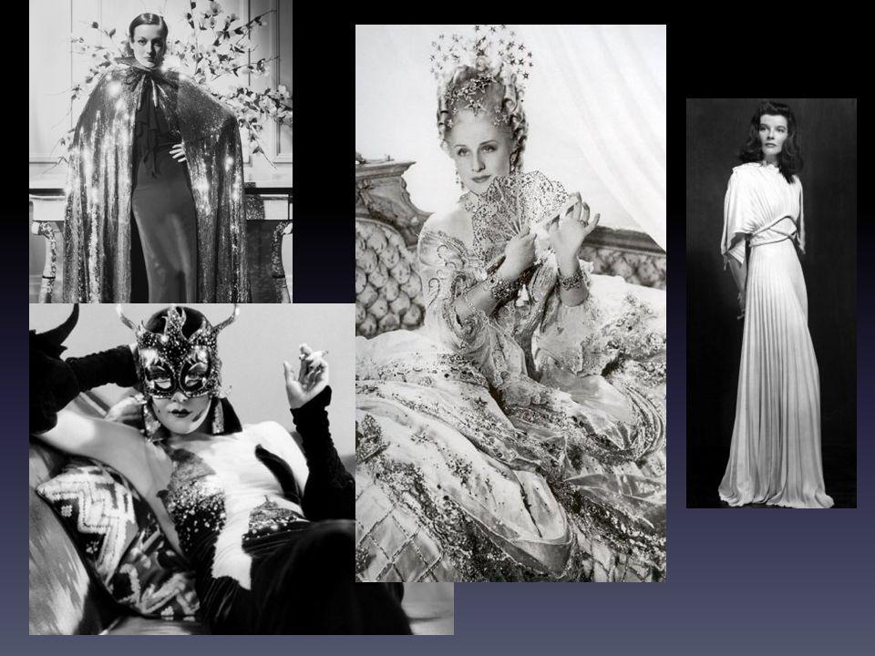 Letty Lynton, 1932 (r. Clarence Brown) Kontrastní asymetrické šatyŠaty s nařasenými rukávy