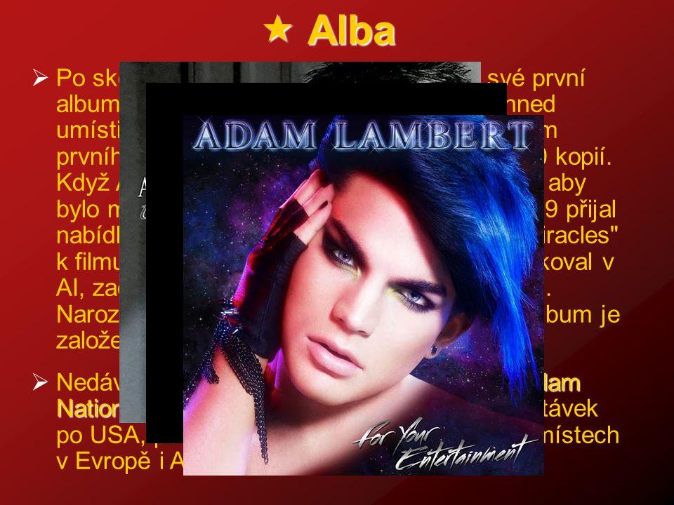 """ Alba PPo skončení AI, v listopadu 2009, vydal své první album """"For Your Entertainment , které se hned umístilo na předních příčkách hitparád."""