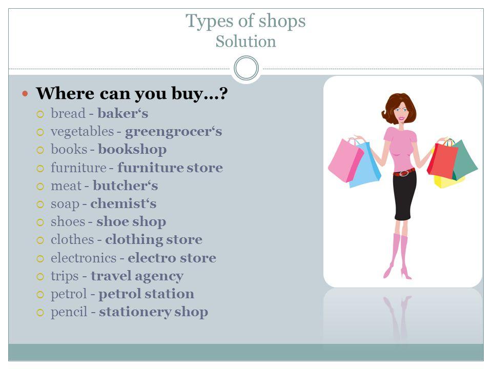 Shopping questionnaire Do you like shopping.Where do you do your shopping.