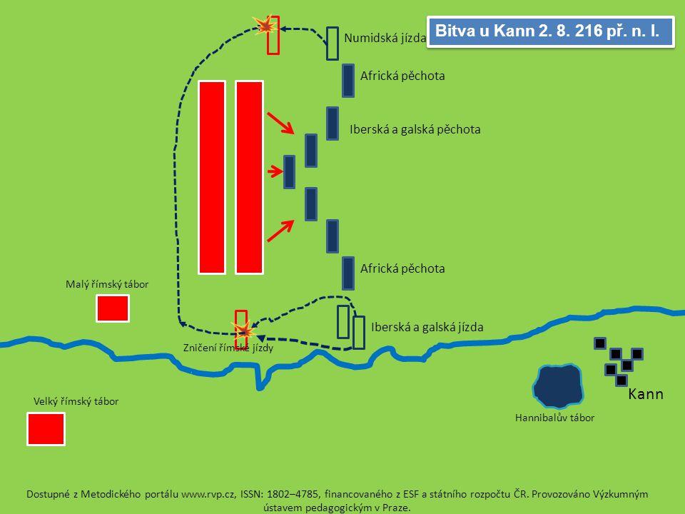 Trasimenské jezero 24. 6. 217 př. n. l. Římské legie Skryté kartaginské vojsko Dostupné z Metodického portálu www.rvp.cz, ISSN: 1802–4785, financované