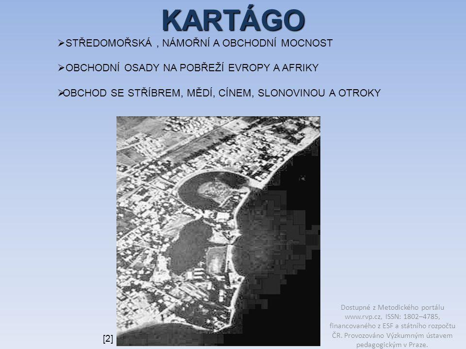 Najdi v učebnici text, který popisuje důsledky porážky Kartága u Zamy.