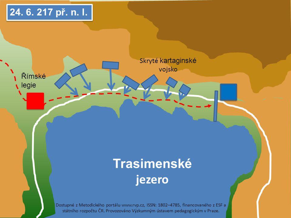 Trasimenské jezero 24.6. 217 př. n. l.