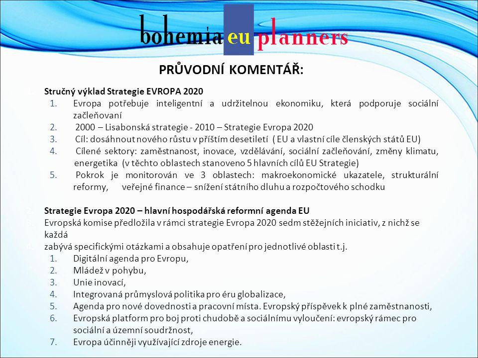 PROGRAMOVACÍ OBDOBÍ 2014+ Rozvojové priority ČR pro kohezní politiku EU po roce 2013 4.