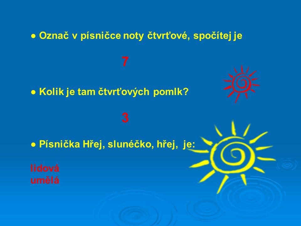 Text : Zuzana Kulaxidisová DiS.Písnička: JAGLOVÁ, Jindřiška.