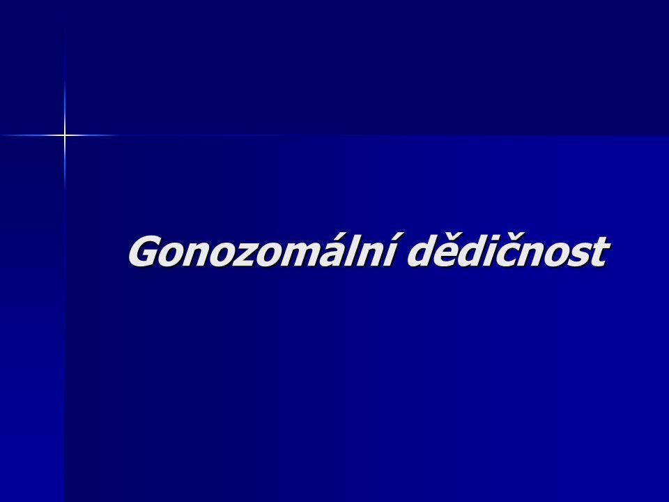 Gonozomální dědičnost