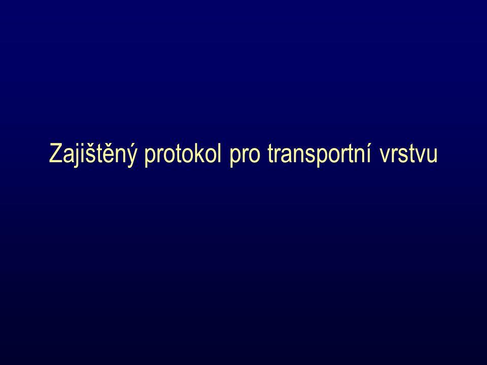 Zajištěný protokol pro transportní vrstvu