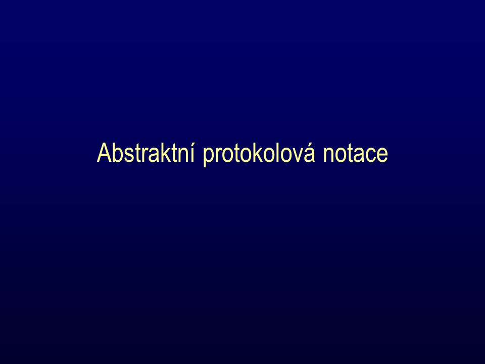 Abstraktní protokolová notace