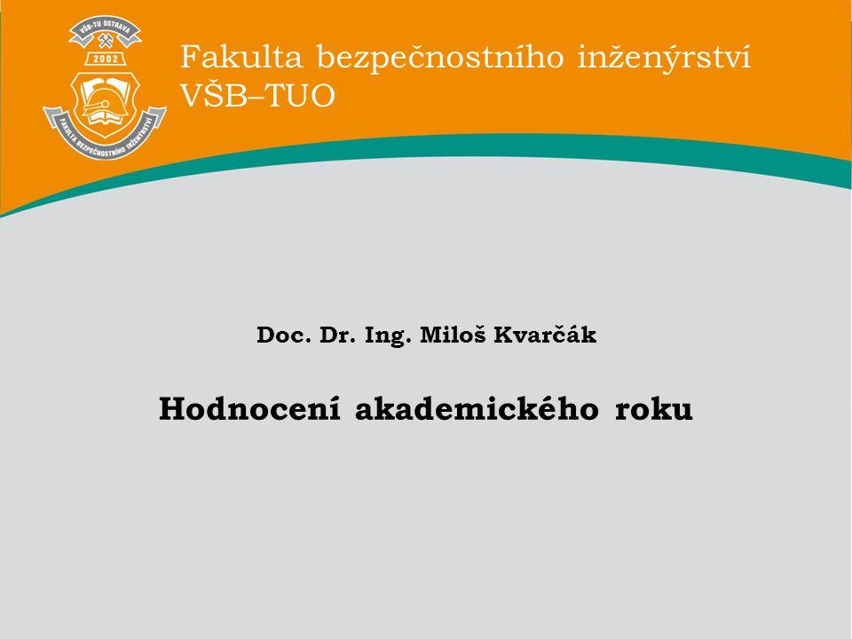 Fakulta bezpečnostního inženýrství VŠB–TUO Doc. Dr.