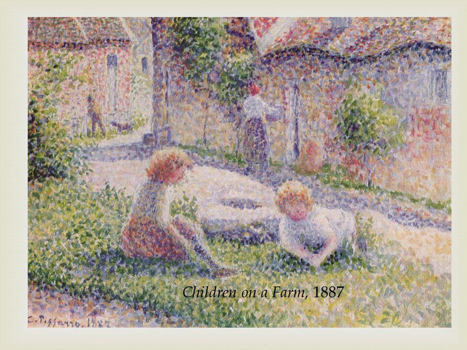 Children on a Farm, 1887