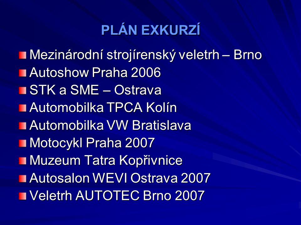 ŠKODA - BOSCH V rámci vzdělávání pedagogických pracovníků se naše škola zapojila do programu Škoda – Bosch, ve kterém jsou předávány nejnovější informace z oblasti automobilní techniky pedagogům.