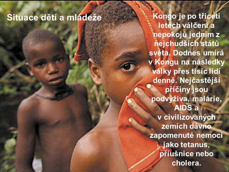 Kongo je po třiceti letech válčení a nepokojů jedním z nejchudších států světa. Dodnes umírá v Kongu na následky války přes tisíc lidí denně. Nejčastě