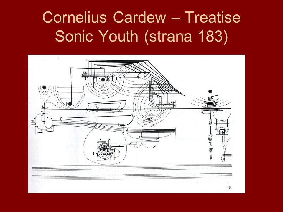 Cornelius Cardew – Treatise Sonic Youth (strana 183)