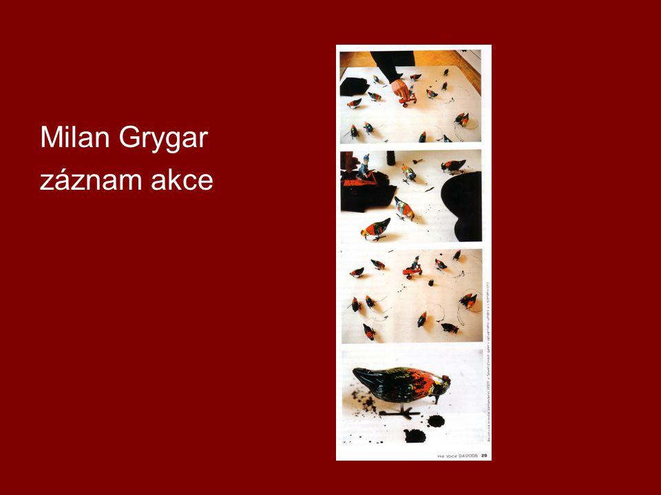 Milan Grygar záznam akce